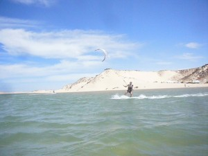 Kite surfing Dakla
