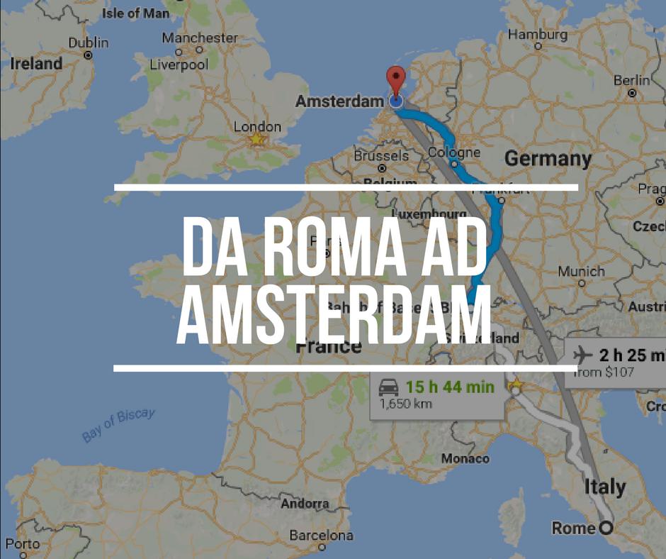Come raggiungere amsterdam partendo da roma vivere ad - Quante valigie si possono portare in aereo ...